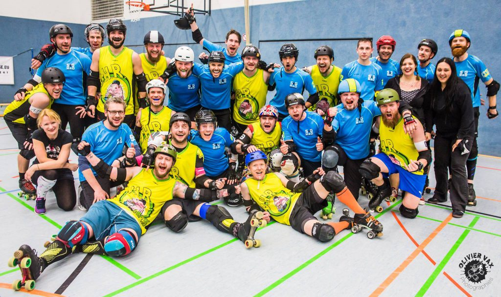 Group Shot SGMRD + DHR Roller Derby